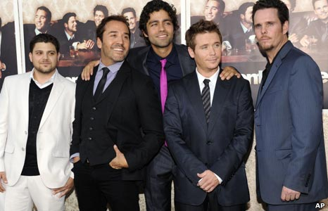 The cast of Entourage