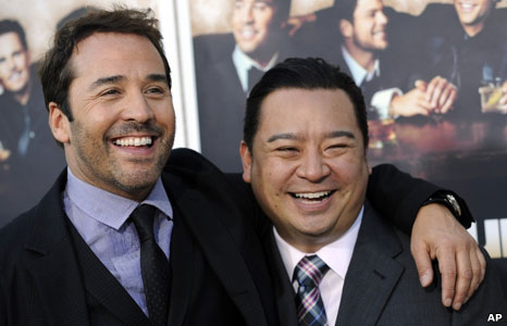 Jeremy Piven and Rex Lee