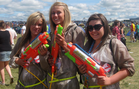 Sophie Paterson, Faye Beadnall and Emma Harrison from Middlesbrough