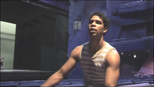 Carlos Acosta in the Lowry