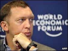 Russian billonaire Oleg Deripaska