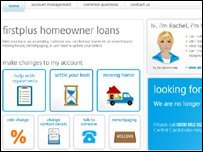 First Plus loans website