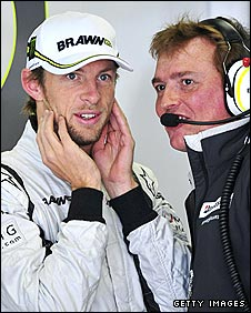 Jenson Button ahead of German Grand Prix practice