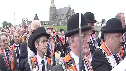 Orangemen at Drumcree