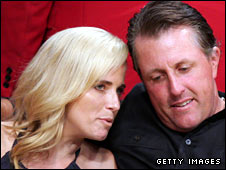 Phil Mickelson and wife Amy