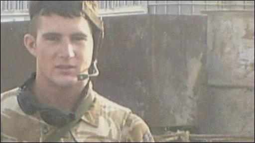Corporal Tom Gaden