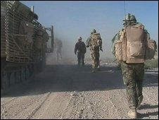 UK troops in Afghanistan