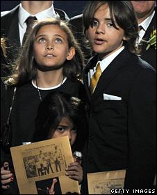 Michael Jackon's children
