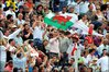 Simon Jones flies the flag for Wales