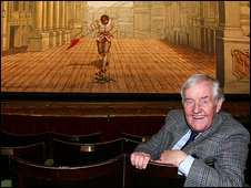 Richard Briers at the Theatre Royal