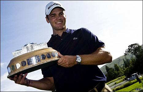 Martin Kaymer won the Scottish Open