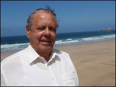 Dennis Arbon, former owner of Gwithian Beach
