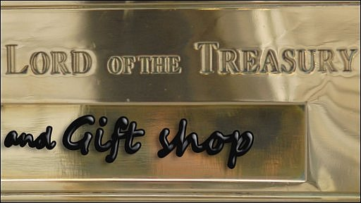Lord of the Treasury sign