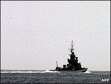 Israeli gun boat