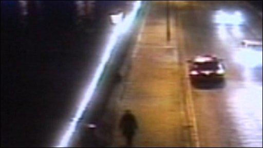 CCTV footage of Kamila Garsztka