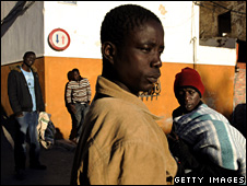 African immigrants in Spain try to find work (20 November 2008)
