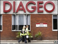 Diageo distillery, Port Dundas, Glasgow