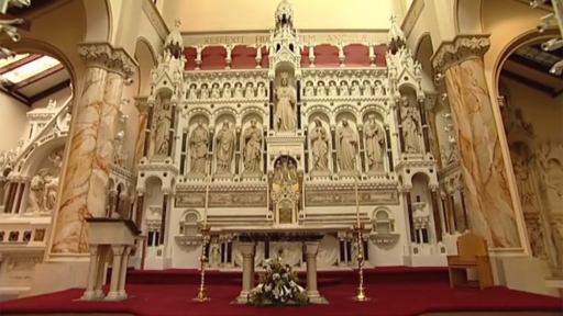 The high altar of Manchester's Hidden Gem Church