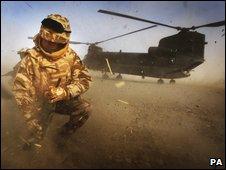 Brigadier Andrew Mackay in Afghanistan