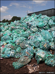 Bags of rubbish (Getty Images)
