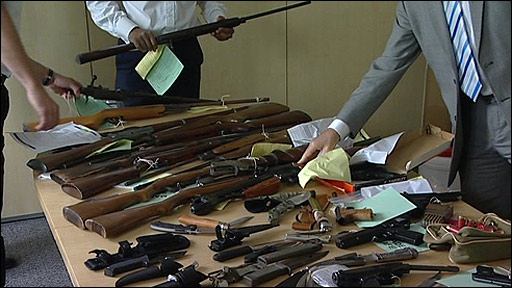 Amnesty guns