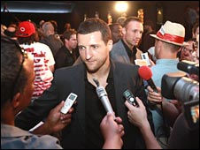 Carl Froch at Madison Square Garden