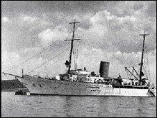 Hitler's yacht, the Aviso Grille