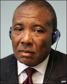 Ex-Liberian President Charles Taylor