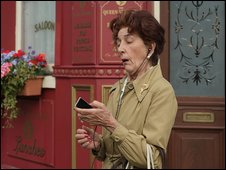 Dot Cotton and an mp3 player