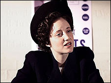 Andrea Riseborough in Margaret Thatcher : The Long Walk To Finchley