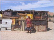 Topnaar house, Namibia