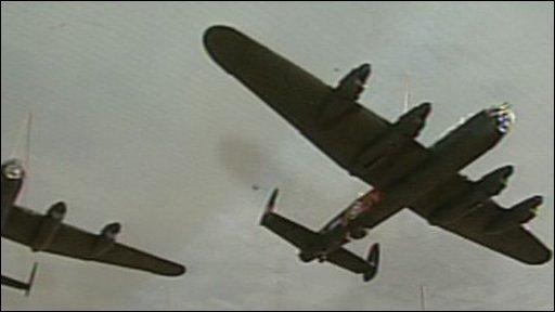 Models of Lancaster Bombers