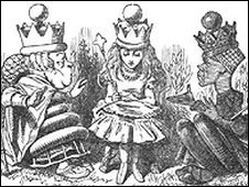 Alice as usually portrayed in fiction