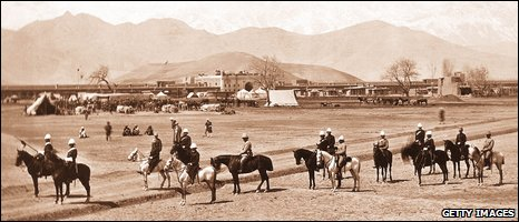 British forces in Afghanistan around 1880