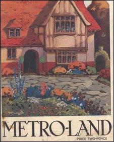 Poster promoting Metroland