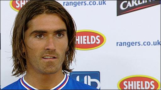 Rangers midfielder Pedro Mendez