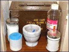 Bomb-making materials