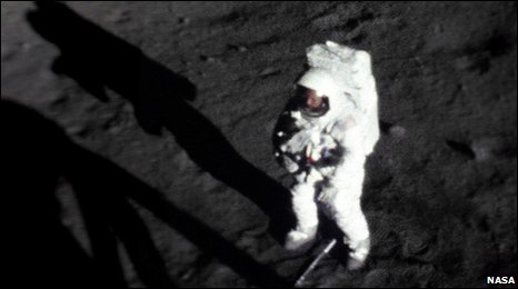 Neil Armstrong on the Moon (Nasa)