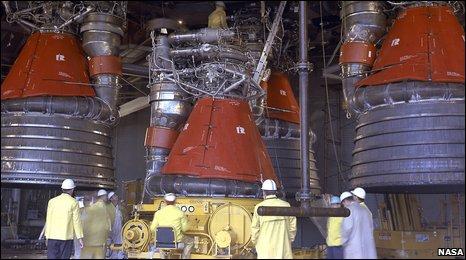 Saturn V engines (Nasa)