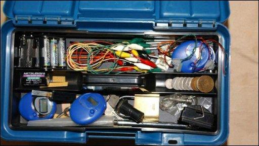 Bomb-making equipment