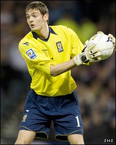 Sunderland and Scotland goalkeeper Craig Gordon