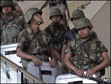 Honduran troops, 15 July, 2009