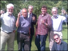 Weston Front Campaign Group celebrate the decision to drop Weston Otmoor from the eco-town plans
