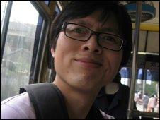 Colin Yu on bus