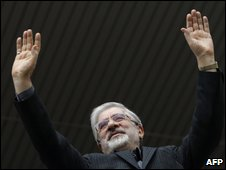 Mir-Hossein Mousavi before elections