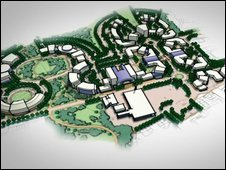 Whitehill Bordon eco town plan