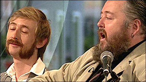 Neil Hannon and Thomas Walsh