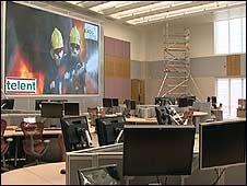 New fire control room, Taunton