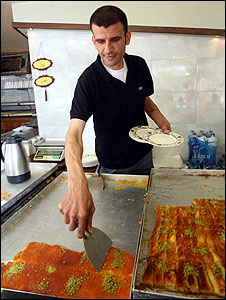 Magdi Abu Salha, Nablus sweet shop owner