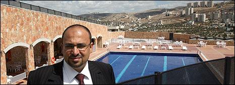 Nablus Hyatt board member Suleiman Daifi